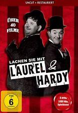 Lachen Sie mit LAUREL & HARDY 40 Filme 16 Std Slapstick DVD Dick und Doof BOX