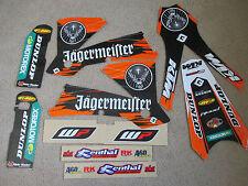 TEAM JAGER KTM GRAPHICS  SX SXF  2003 2004 & EXC XC XCF XCW XCWF 2004 2005