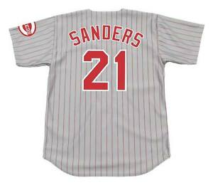 new product 808f6 e308e deion sanders cincinnati reds jersey