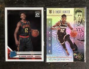 2019-20 De'Andre Hunter Lot Basketball Cards