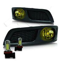 10-12 Subaru Legacy Fog Lights W/wiring Kit & High Power Cob Led Bulbs - Yellow