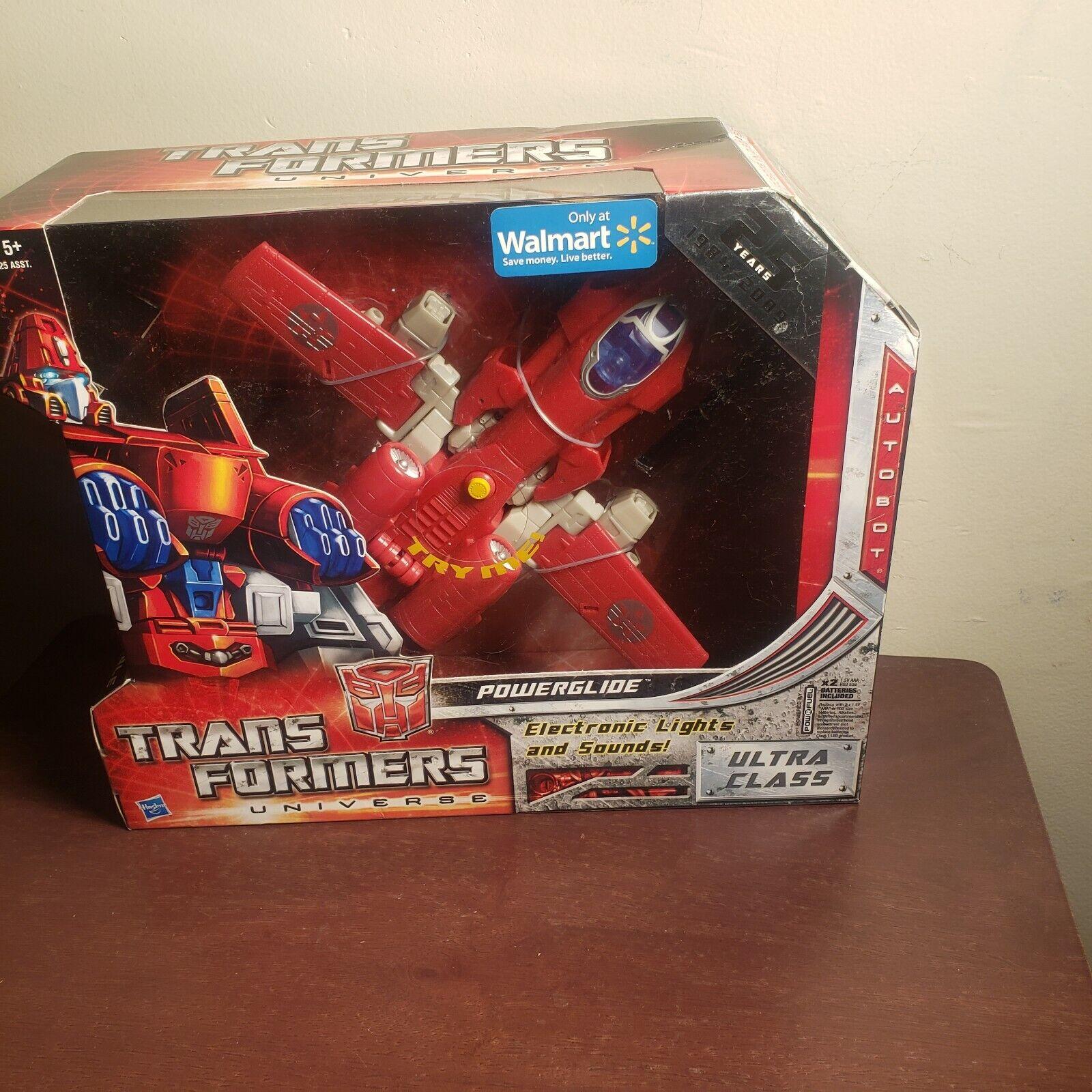 2009 nuovo Transformers Universe  Ultra classee energiaGLIDE Electronic luci & suono  protezione post-vendita