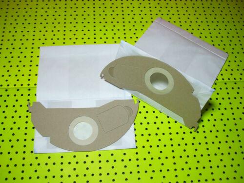 20 Staubsaugerbeutel aus mehrlagigen Papier für Kärcher A 2054 und andere