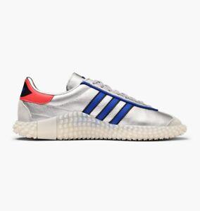 Détails sur Adidas Country X Kamanda ArgentPower Bleuchoc rouge UK 9, 10, 11 afficher le titre d'origine