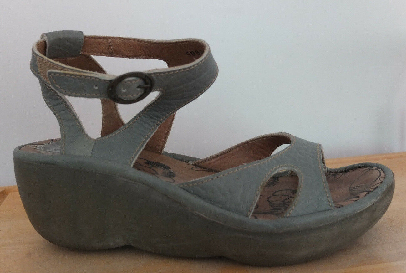 London Sandalias Fly Top Nnfobh9215 Zapatos 37 Nuevos Talla Cuero 2beIHW9EDY