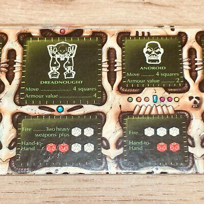 Games Workshop MB Space Crusade Commander Scanner Weapons Card Part