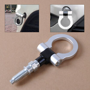 Image Is Loading Silver Racing Tow Towing Hook Trailer For European