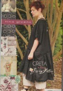 PATTERN-Greta-Dress-amp-Pants-women-039-s-sewing-PATTERN-from-Tina-Givens