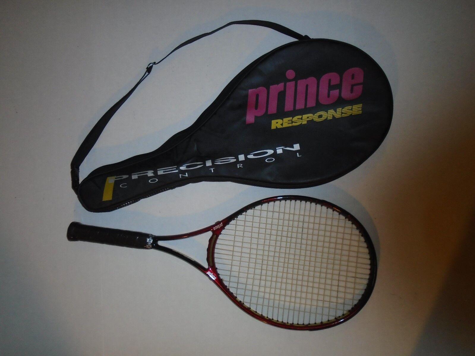 Prince Precision Response OS (107) 710 PL + Case. 4 5 8. NXT. New Grip. VG.