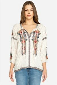 Johnny-Was-Workshop-Aaliah-Peasant-Blouse-Embroidered-New-Boho-Chic-W17218