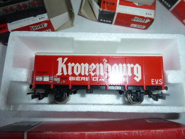 1 Tableau d'éclairage 2 Postes de Comuomode 1 Wagon Kronenbourg Kronenbourg Kronenbourg - JOUEF LOT bd7f02