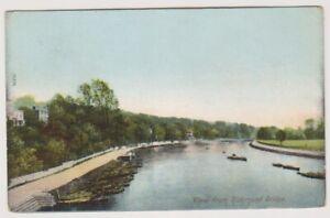 London-postcard-View-from-Richmond-Bridge-P-U-1906-A1629