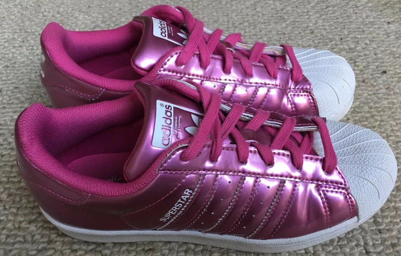 Adidas Superstar Womens shoes Size 4