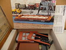 KIBRI 8524   HO PONTON FLUVIAL    état neuf en boite à construire