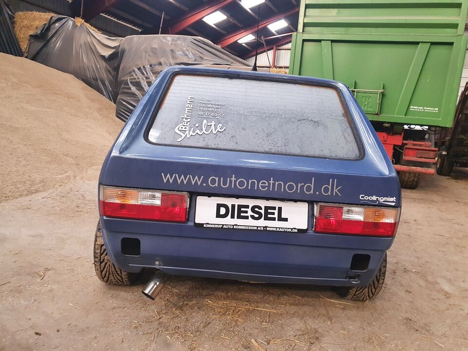 VW Golf I, 1,8 GTi, Benzin