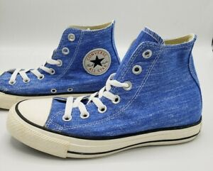 Converse-Chuck-Taylor-All-Star-HI-Light-Sapphire-Blue-Shoes-Women-039-s-Size-5