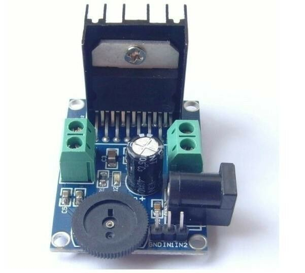 New DC 3 to 18V TDA7266 Power Amplifier Module Double Channel 5-15W