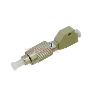 LC-UPC-Female-to-FC-Male-MM-OM3-50-125-Fiber-Optical-Hybrid-Adapter-Converter