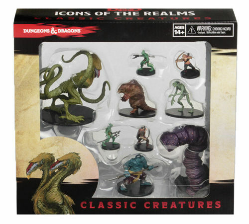 Wizbambini Dungeons & Dragons D&D Icons of the Realms   classeeIC CREATURES scatola set  marca