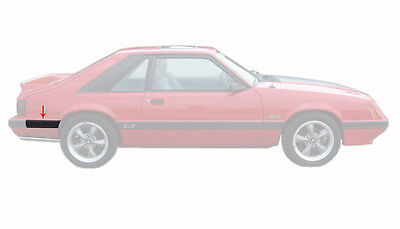 RH Passenger/'s Side 1987-1993 Mustang GT Door Body Side Trim Molding Moulding