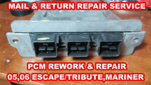 Details about PCM REPAIR: 5L8A-12A650-AAD FORD,MERCURY &MAZDA 05-06 ESCAPE,  TRIBUTE &MARINER