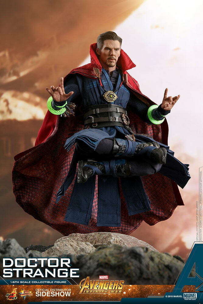 Hot Toys MMS MMS 484 Avengers Infinity War Doctor Strange 1 6 USA Seller In Hand