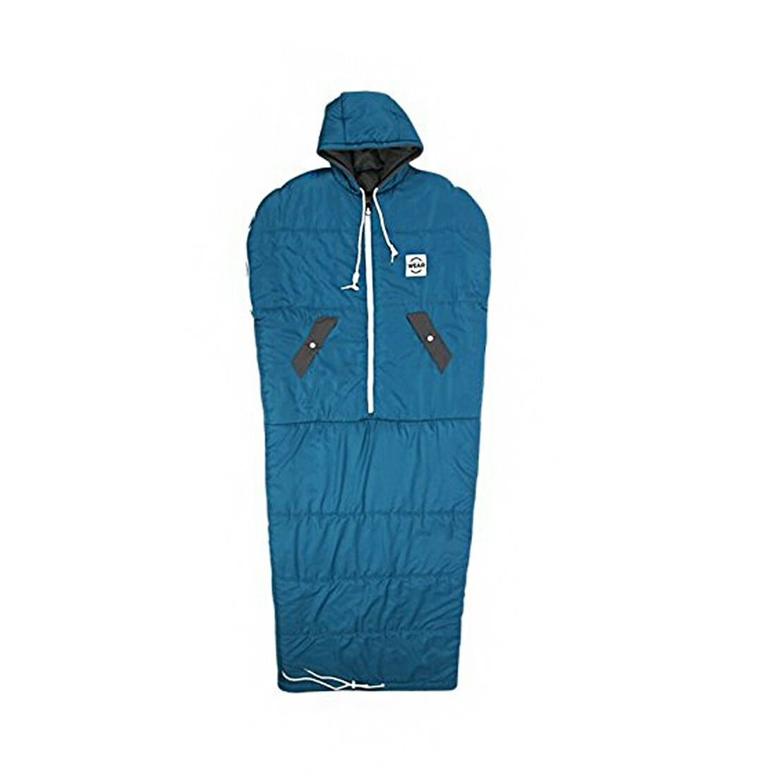 VINSONMASSIF Wearable Sleeping Bag for Camping Hiking Outdoors  Turkey blu