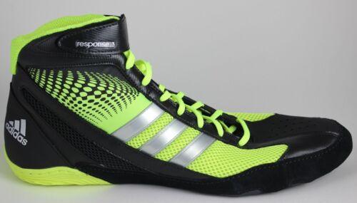 cheap for discount 51fc5 456e4 Elettrico argento G96624 Verde Scarpe 3 Uomo Wrestling Adidas Response Nere  1 qvP6azw