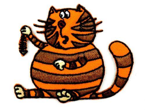 Applikation zum Aufbügeln Bügelbild 2-377  Katze
