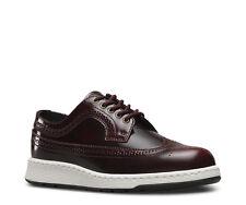 Dr Martens GABE ARCADIA Cherry Red Brogue Type Shoes rrp £115 UK 5 EU 38 LG06 30