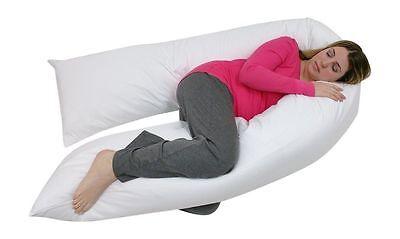 12 Ft (ca. 3.66 M) Comfort Cuscino U Solo Corpo Pieno Sostegno Schiena Maternità Gravidanza Cuscino U -- Circolazione Del Sangue Tonificante E Arresto Del Dolore