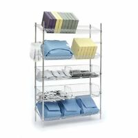 Slanted Shelves & Dump Bins Combo Unit 48w X 18d X 74h 1 Ea