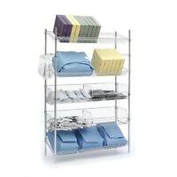 Slanted Shelves & Dump Bins Combo Unit 48w X 18d X 74h 1 Ea