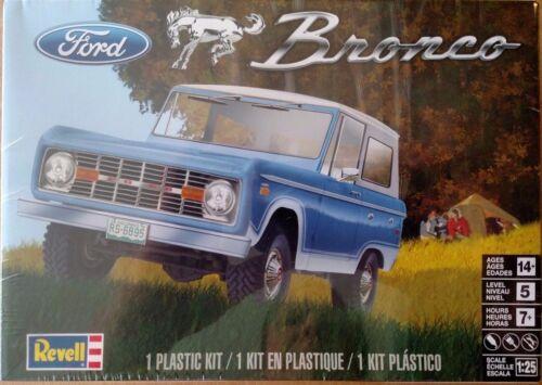 Revell 85-4320 Ford Bronco 1//25 Scale Model Kit 85-4320