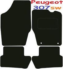 PEUGEOT 307sw Deluxe Su Misura Qualità Tappetini Auto 2001-2008 Estate