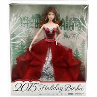 Mattel Barbie Collector 2015 Holiday Barbie Doll - Auburn