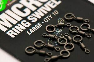 Korda-Micro-Rig-Ring-Swivels-Large-KMRSL
