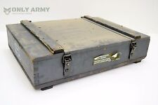 Swiss Army Wooden Storage Box / Tool Box Ammunition Ammo Grenade Rocket Mortar