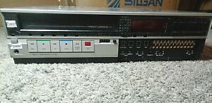 RARE-Vintage-Alpha-Microsystems-Sharp-AM-610-50-VCR-SERVICED-TESTED-READ
