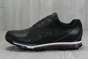 40-Under-Armour-Men-Tempo-Tour-Golf-Shoe-Cleat-Black-Leather-Size-11-1270205-011
