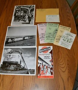 1960s-Group-8-x10-Photos-Timetables-from-PR-dept-Chicago-Northwestern-Railroad