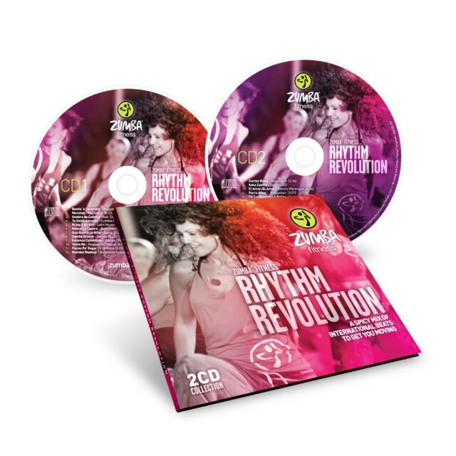 ZUMBA Fitness Rhythm Revolution 2 CD Collection Set MUSIC SOUNDTRACK Spicy Mix