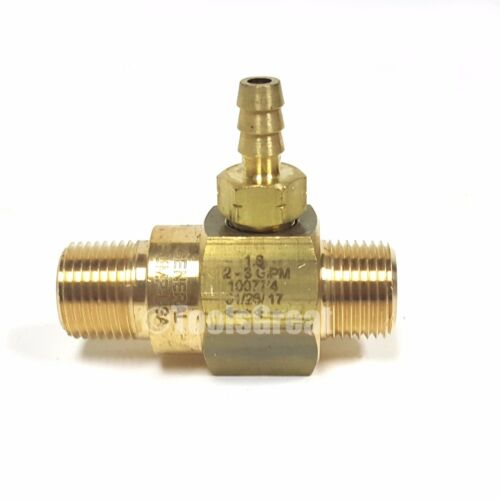 General Pump 2-3 gpm High-Draw Fixed Rate Chemical Injector 100774