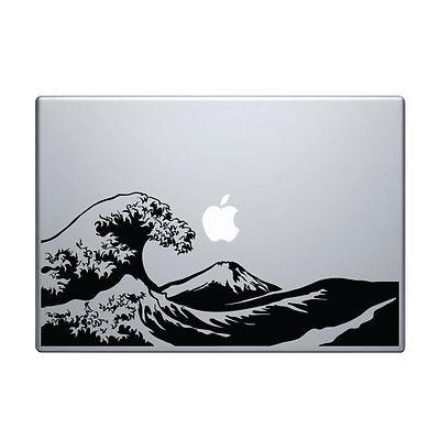 Decal for Macbook Pro Sticker Vinyl mac funny air jdm 13 15 hokusai wave japan
