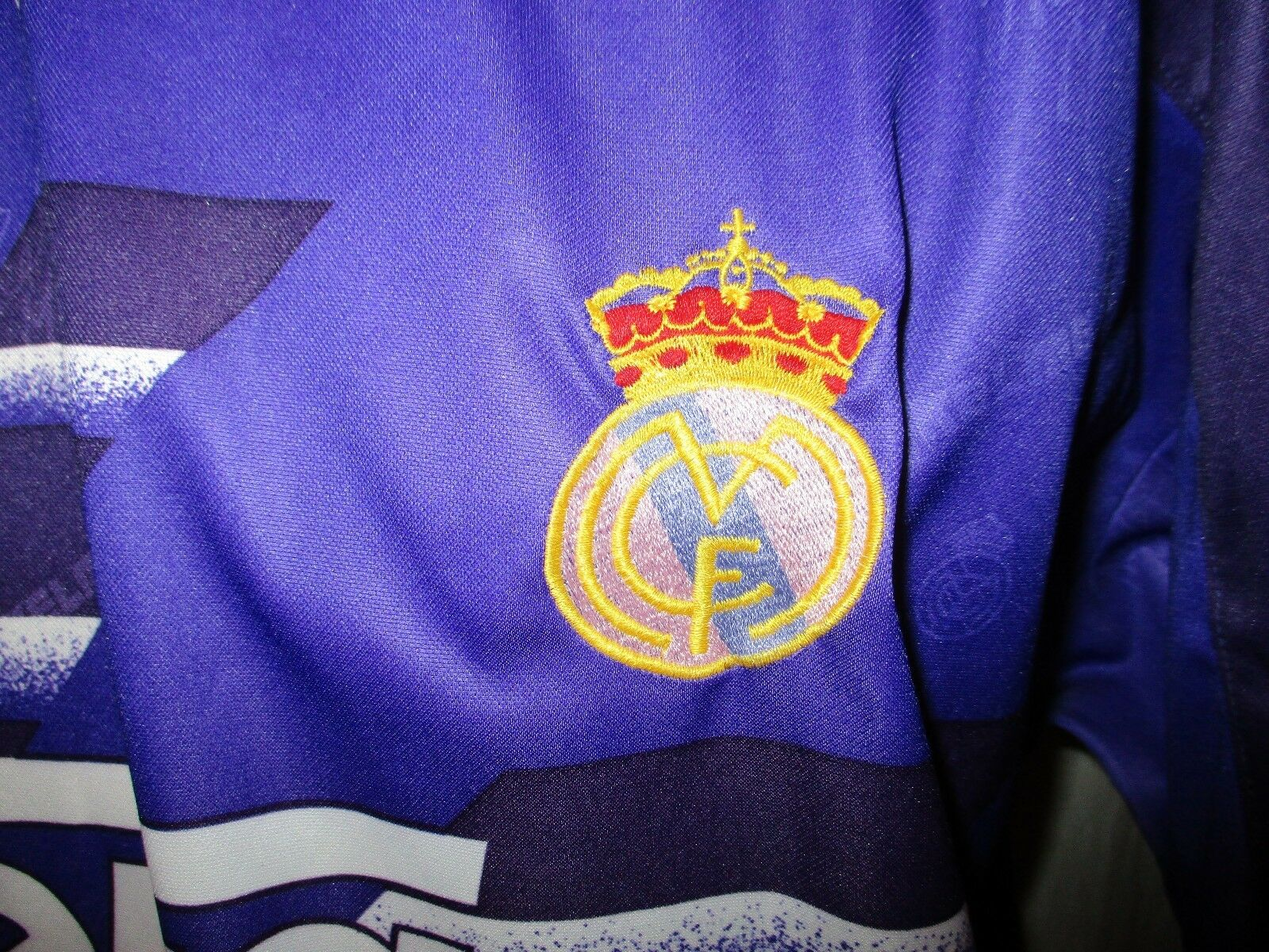 Real Madrid Original Gr.XL Kelme Auswärts Trikot 1994- 1996