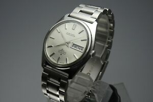 OH-Vintage-1969-JAPAN-SEIKO-LORD-MATIC-WEEKDATER-5606-7000-23Jewels-Automatic
