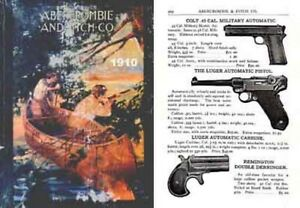Details about Abercrombie & Fitch Firearms & Sports 1910 Catalog