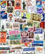 Bulgarie - Bulgaria commémoratifs 100 timbres différents