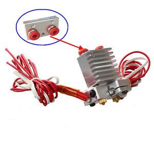 3D-Printer-Chimera-Hotend-kit-Multi-color-Dual-Head-Chimera-Extruder-w-wires