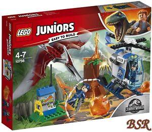 Lego-Juniors-10756-Evasion-devant-de-Pteranodon-Neuf-et-Emballage-D-039-Origine